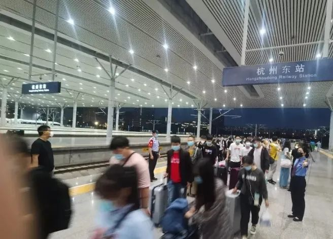 国庆长假杭州铁路计划加开列车27.5对,具体开往哪里?