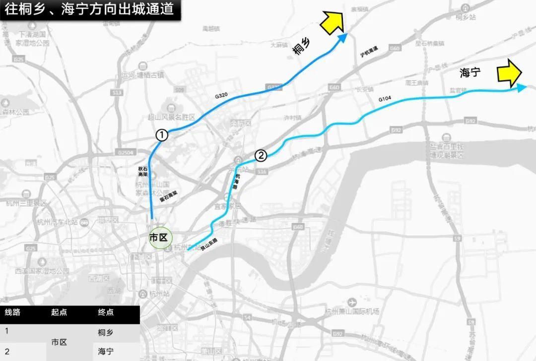 """重要提醒!杭州""""城市大脑""""发布预警:长假进城、出城避开这些路段、时间段"""