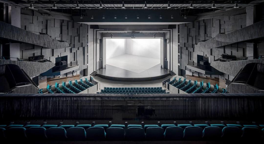"""大运河剧院披上""""银装"""",看看杭州还有哪些剧院?"""
