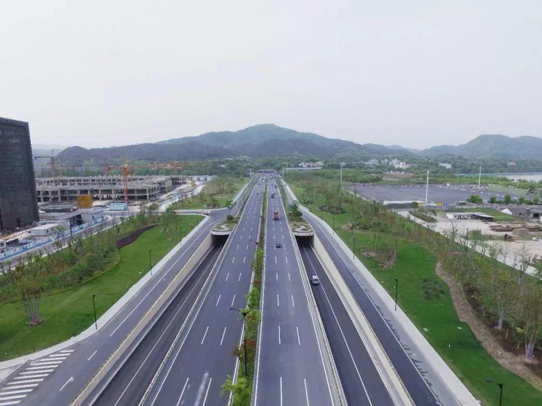 杭州紫之隧道获詹天佑奖!