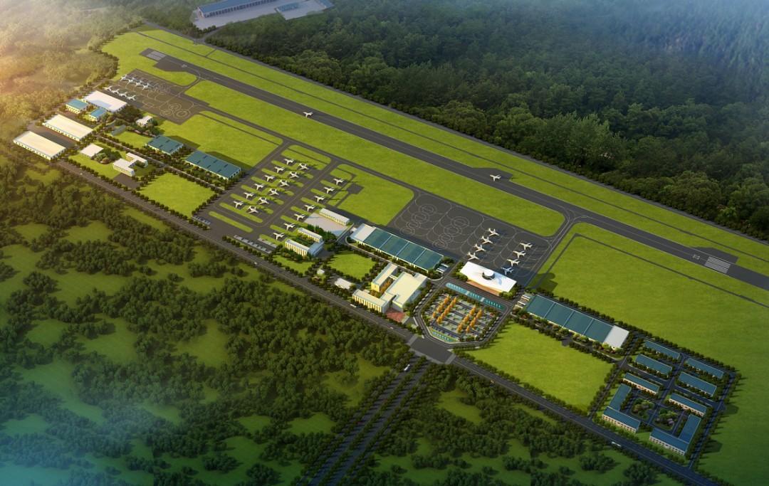6000平方米航站楼即将亮相!1200米跑道预计年底使用!