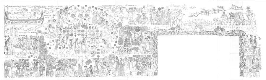 """11月10日-24日,第五届""""一带一路""""壁画论坛暨绝学之路·中国壁画艺术展即将开幕!"""