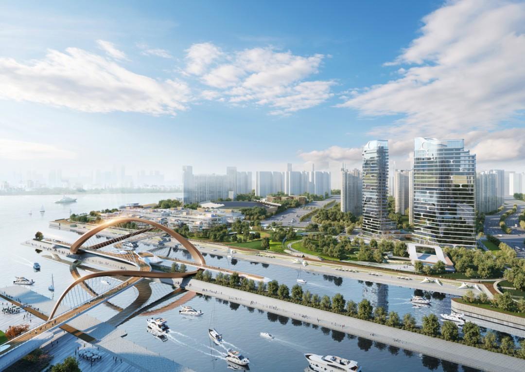 江河汇最新进展来了!钱塘江边将新增多个地标建筑!