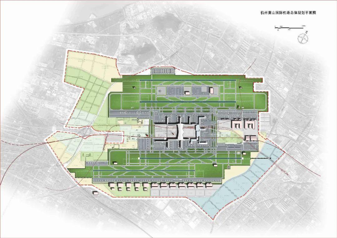 杭州机场新一轮总体规划获国家批复!要建成全国换乘最便捷的大型综合交通枢纽