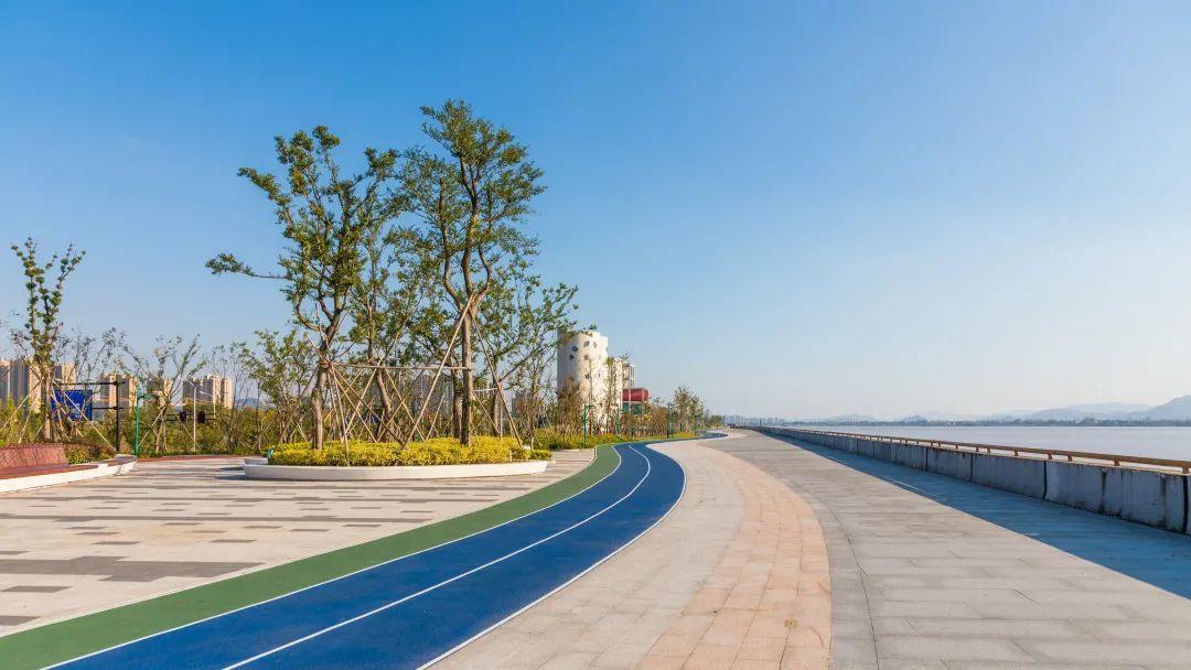 """杭州这条17.4公里""""最美跑道""""全线贯通!周末又有好去处!"""
