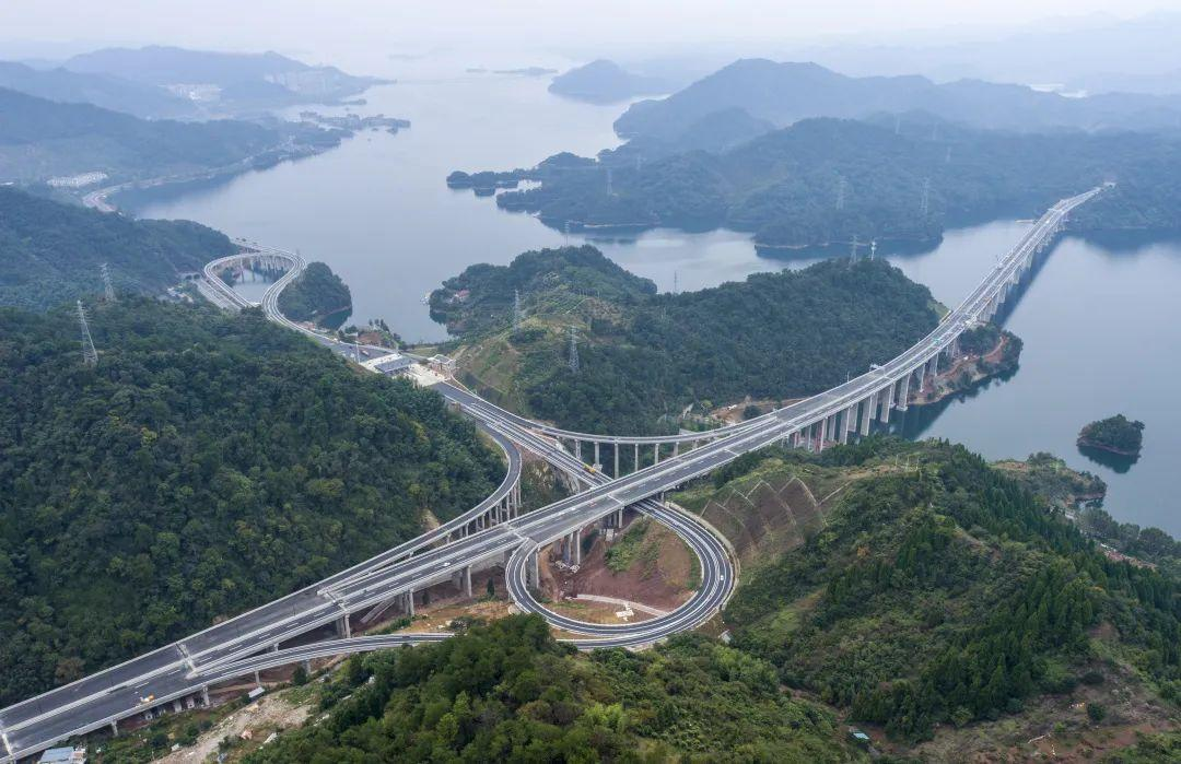 千黄高速淳安段,计划于今年12月正式通车!