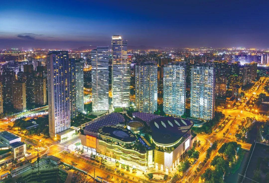 """杭州钱江新城将有一条""""十字金街"""",下月开街!"""