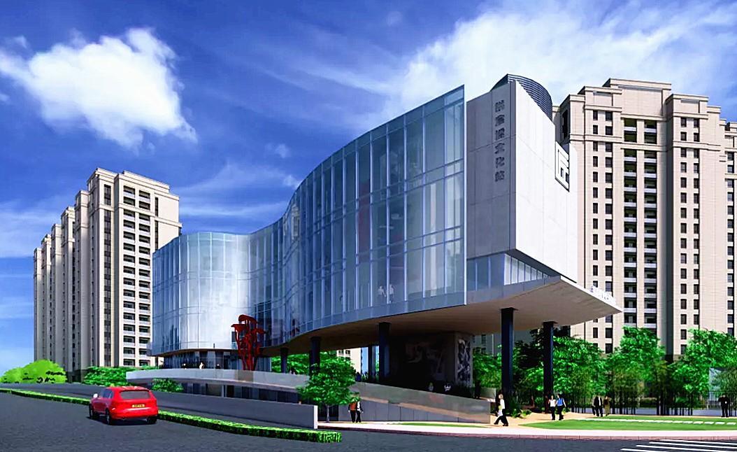 杭州大运河湖畔再添文化新地标——大运河紫檀博物馆,预计2022年完工!
