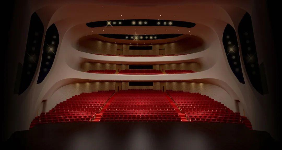 杭州金沙湖畔大剧院施工完成啦!