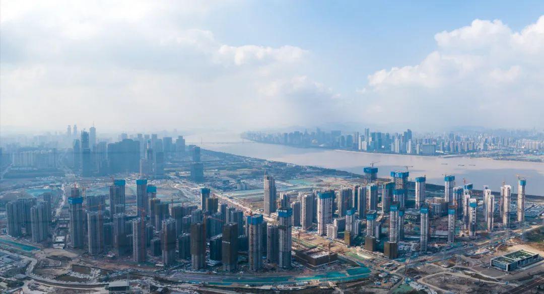 杭州亚运村全面结顶!预计2022年3月试运行!