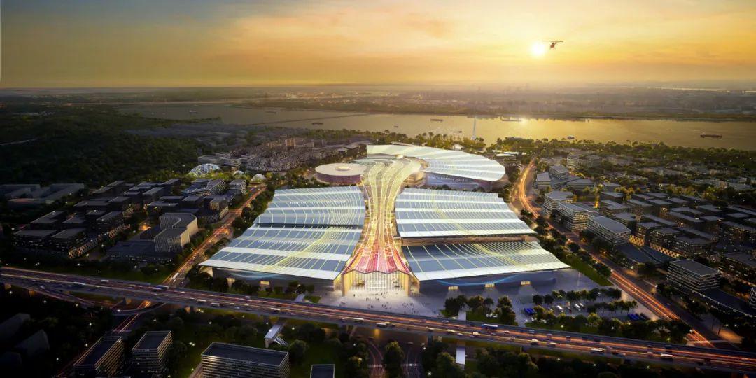 杭州大会展中心项目一期开工!会展新城正式开建!