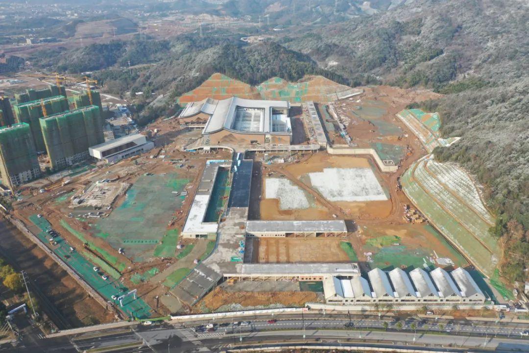 今年3月,杭州亚运会第一批竞赛场馆将竣工验收!图1