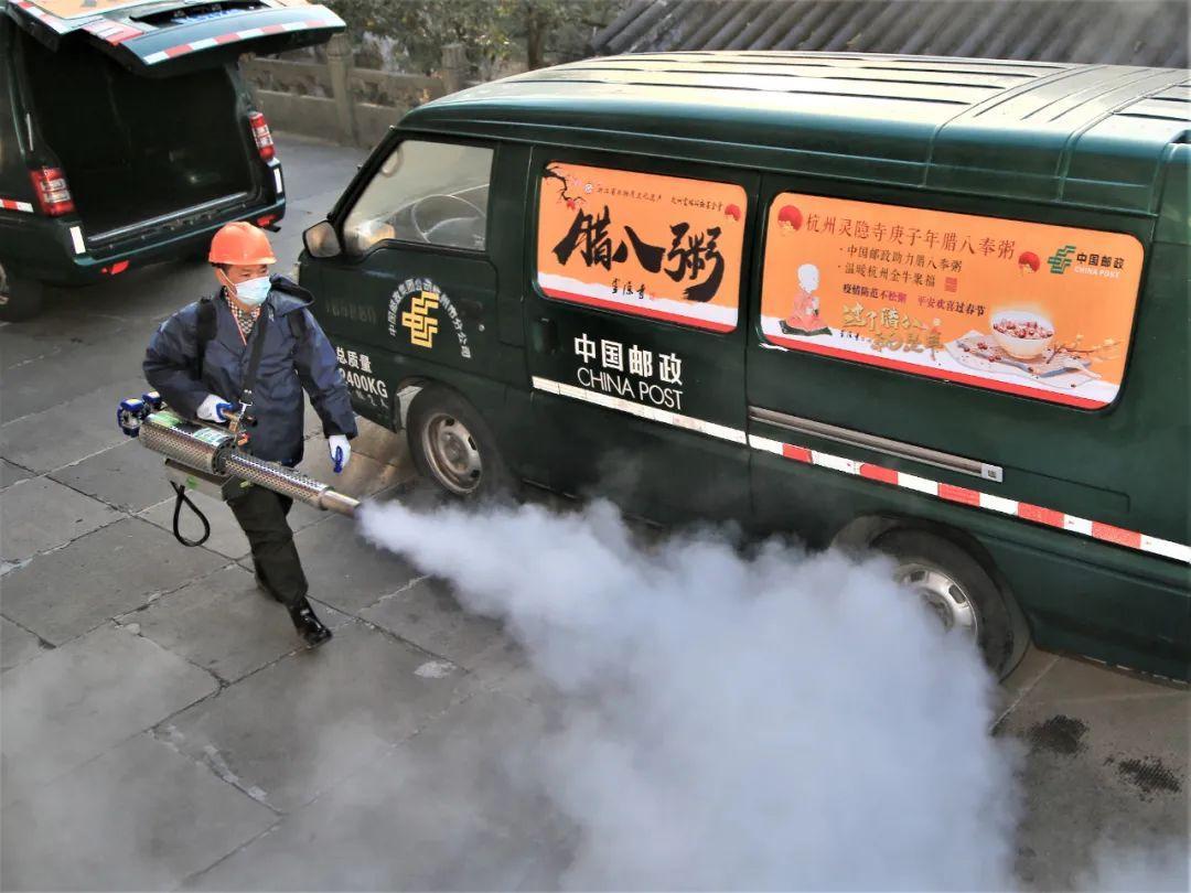 杭州灵隐寺科学精准防控疫情,腊八节不在寺内施粥!