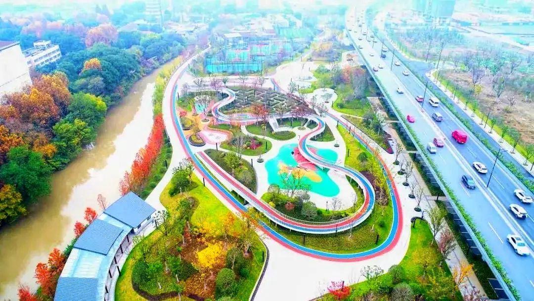 杭州新增两处新公园!内有健身场馆、游乐区、无人超市……休闲娱乐又有新去处!图3