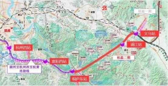 杭温铁路二期有新进展,以后杭州→温州铁路出行将缩短至1小时!