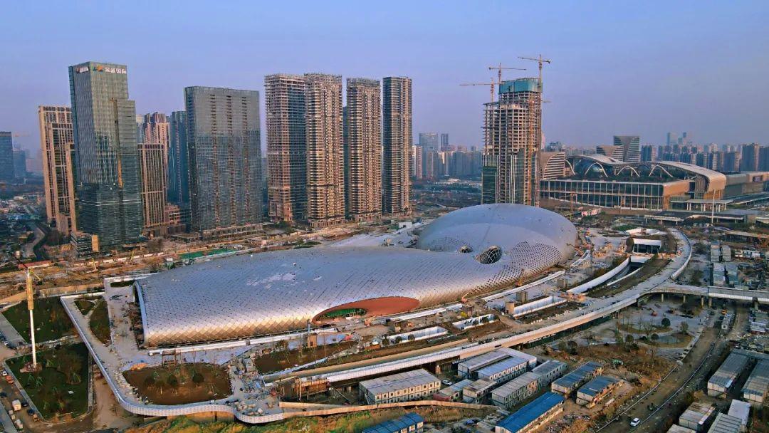 """探索全球最大的""""玉琮""""建筑,还有这些杭州亚运会场馆,你可能第一次见到!"""