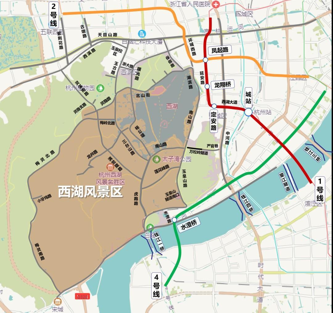 西湖景区再度迎来旅游旺季,交通出行有什么注意事项?