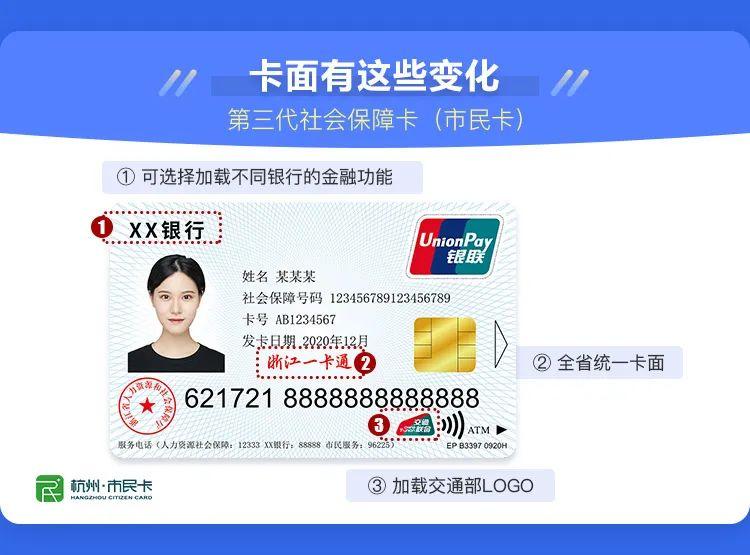 浙江省第三代社保卡(市民卡)如何申领?具体哪些功能?退休前必须办吗?