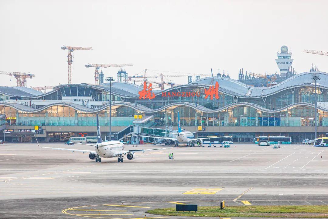 3月28日起,杭州机场执行夏航季航班计划!