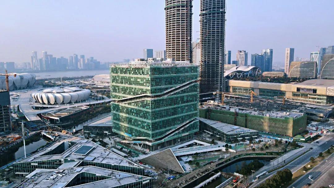 杭州亚运三馆通过竣工验收!达成两项世界之最!