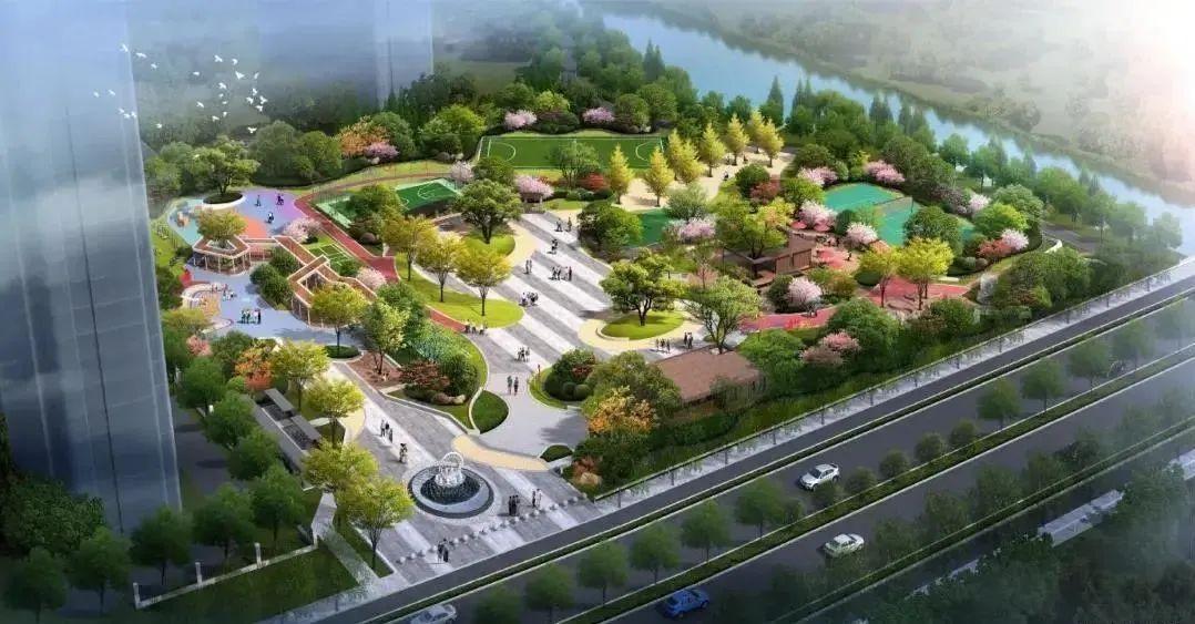 杭州今年又有四座公园开建,节假日出行多了新选择!图2