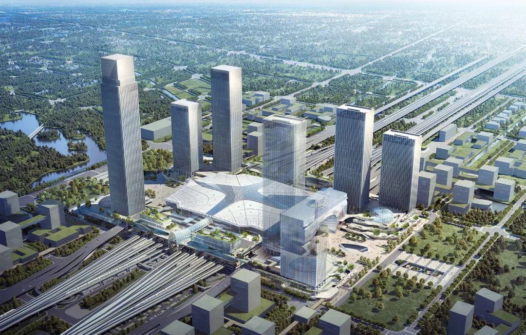 杭州西站枢纽最新进展!计划杭州亚运会前投入使用!