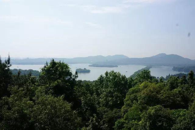 杭州西湖景区7处高地,让你西湖全景一览无余!图3