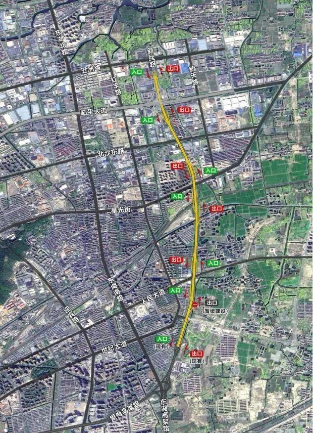 杭州这几条高架路建设有新进展!计划明年完工!