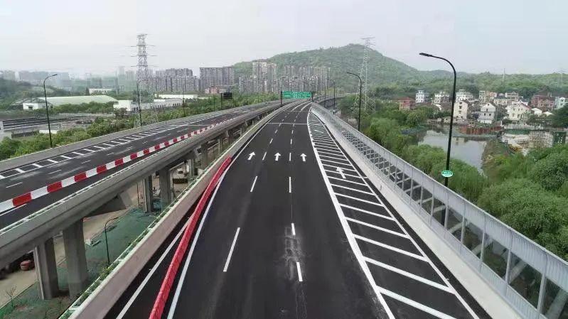 杭州时代高架、彩虹快速路西延之江段的3座隧道开通试运行,出行更便捷啦!图2