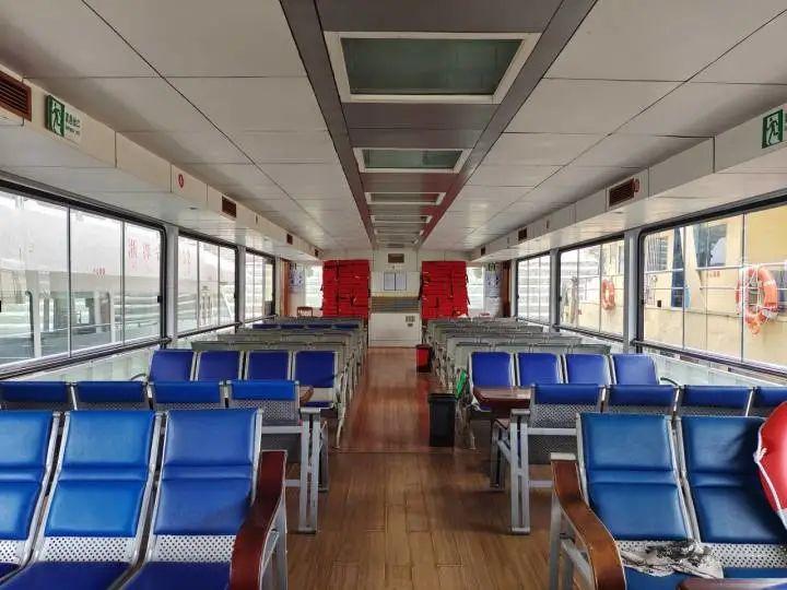 """杭州地区唯一一条省际客运航线——""""千岛湖至安徽深渡""""航线换新船了!"""