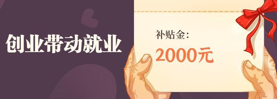 杭州高校毕业生创业带动就业3人,即可享受每年2000元补贴!